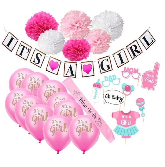 It's a Girl Baby Shower Decoration  For Baby Shower 1