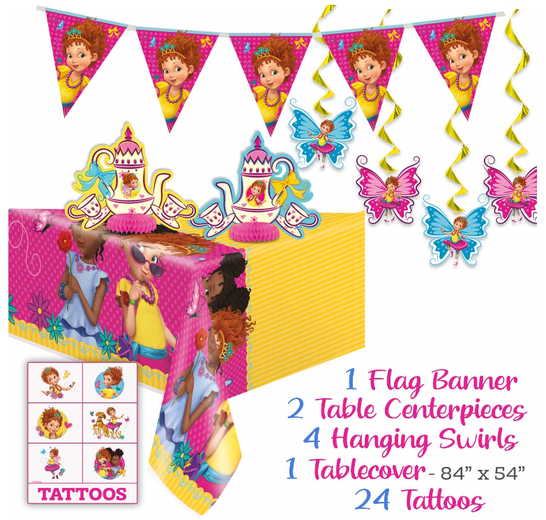 This Disney Fancy Nancy party supplies set for 16 person 6