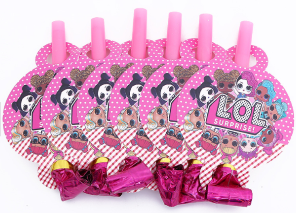 doll lol for kids birthday theme party decoration supplies set ( FOR 10 PERSON ) 5