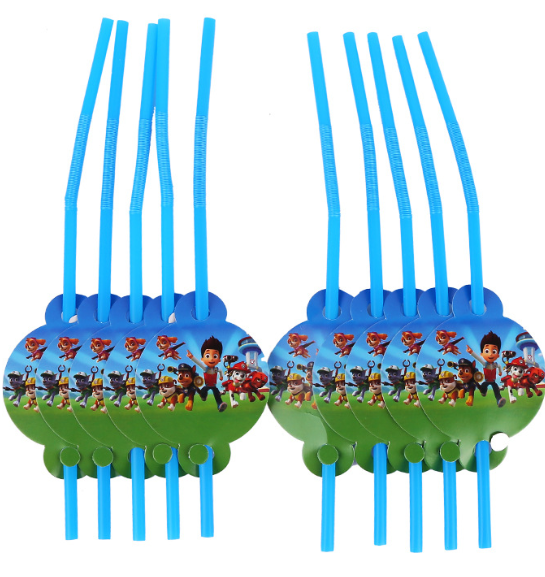 Powpatrol kids birthday theme party supplies set party decorations ( FOR 10 PERSON ) 4