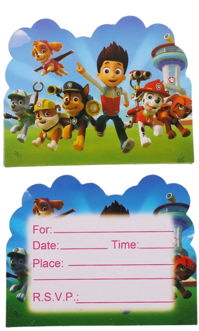 Powpatrol kids birthday theme party supplies set party decorations ( FOR 10 PERSON ) 8
