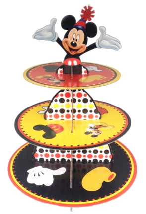 Mickey party red Mickey party tableware set children birthday party supplies decoration ( FOR 12 PERSON ) 2