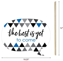 Big Dot of Happiness Blue Grad - Best is Yet to Come - Royal Blue 2020 Graduation Party Photo Booth Props Kit - 20 Count 3